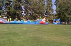 Check out SCV Bounce Company, Inc. for insured and licensed party rental services. They provide rentals for obstacle courses, combo units, water slides, dunk tanks, concession machines and more.