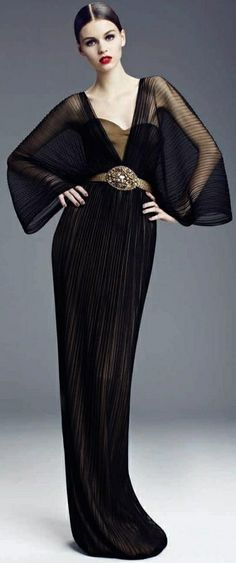 Black Gown Dilek Hanif