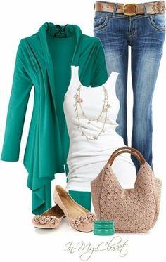 Fun weekend outfit #WeekendLook #Shopstyle