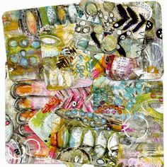 Art Pops Cards by Roben-Marie Smith for a mixed media twist to project life.