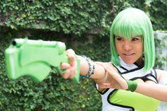 LeslieSalas as Emerald Sustrai from RWBY Emerald Sustrai, Rwby, Deviantart Cosplay