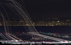 Long Exposure Photography | Amazing Long Exposure Photos of Air Traffic
