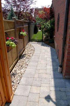 90 beautiful side yard garden decor ideas (79)
