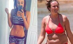 Geordie Shore's Charlotte Crosby displays her slimmed down figure in zebra print | Daily Mail Online