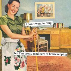 102 Hilariously Sarcastic Retro Pics That Only Women Will Truly Understand