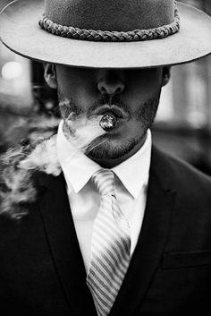 Smoking Man of Fashion