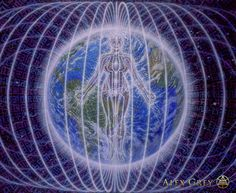 We are one! universal love :) Person Planet Alex Grey