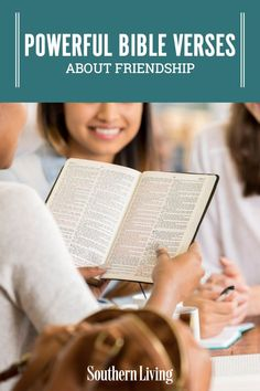 Whether you're looking for advice on strengthening your current friendships or simply seeking guidance for developing new ones, these Bible verses about friendship are sure to push you in the right direction. #bibleverses #biblequotesaboutfriendship #friendshipquotes #southernliving Bible Verses About Friendship, Friendship Quotes, Prayer For A Friend, Powerful Bible Verses, Fast And Pray, Proverbs 12, Inspirational Bible Quotes, Southern Sayings, Bible Encouragement