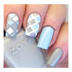 Matte nails Nails ❤ liked on Polyvore featuring beauty products and nail care