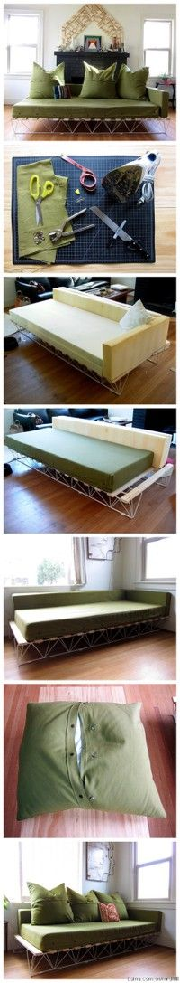 Twin Bed Couch On Pinterest Twin Bed Sofa Twin Mattress Couch And Pallet Twin Beds