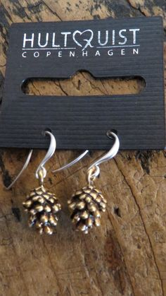#PineCone #Earrings #Hultquist #Jewellery #Fashion
