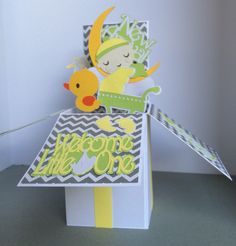 A personal favorite from my Etsy shop https://www.etsy.com/listing/455404764/3-d-new-baby-baby-shower-new-arrival-pop