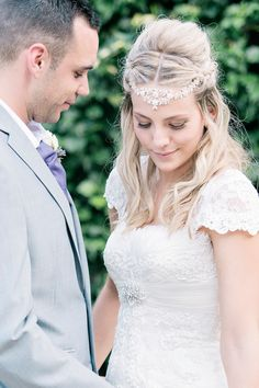Bride and Groom from a Sweet Summer Country House Wedding | Photography by http://shuttergoclick.photoshelter.com/