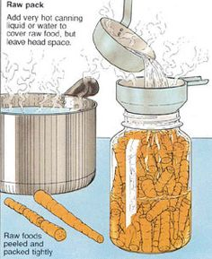Hot Pack or Raw Pack? Which is Best in Home Canning?