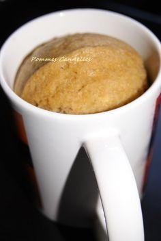Pommes Cannelles: Mug cake express au vitaliseur {sans gluten}