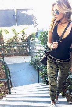 Paulina Gretzky Wears Camo Pants And Now We Want Camo Pants                                                                                                                                                      More