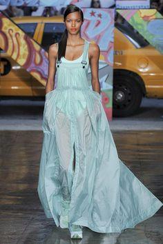 overall dress? hm, interesting, DKNY