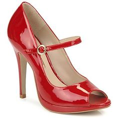 Sandals Buffalo ADDISON Red