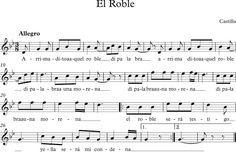 Canción Popular del Cancionero de Las Dos Castillas Music Ed, Sheet Music, Folklore, World, Greek Chorus, Languages, Sweet, Reading, Music Education