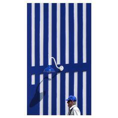 #Inspiration via @inter_disciplinary - #COOL #bluecolor #architecture #stripes #lines #beachstyle #poolside #swimsuit #eresparis #eresinspired #summer2016 #swimwear