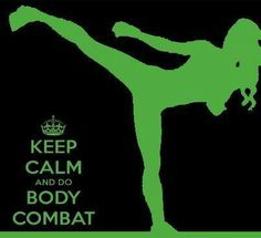 Loving the exhilaration that Combat gives me unlike any other workout :)