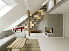 Rounded Loft.  A1 Architects.