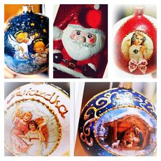 I'm keen on doing useful art. For me that's the best way f.e to prepare for christmas. Every year I hang on christmastree a new decoration. And of course I make baubles for my family and friends as a small gift. I think it's practise could be useful in the future.