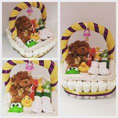 Med Basket of Goodies, Nappycake