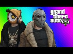 Vanossgaming - GTA 5 Online Funny Moments - Thug Owl vs. Bane (Ill-Gotten Gains DLC) - YouTube