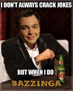 Sheldon Cooper is a strange, strange man (20 Photos)