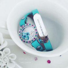 Origami Owl, Spring locket wrap bracelet. www.CharmingLocketsByAline.OrigamiOwl.com