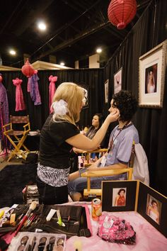 Creations Hair and Makeup- The Bridal Showcase CLT