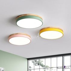 Bedroom Ceiling, Ceiling Lamp, Ceiling Lights, Boot Room Utility, Photo Packages, Kids Lighting, Flush Mount Lighting, Acrylic Colors, Macarons