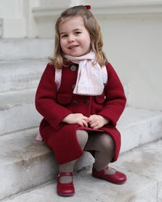 Princess Charlotte's growing up: Prince William and Kate Middleton's only daughter will turn 3 on May Princesa Charlotte, Princesa Diana, Meghan Markle, Kate Middleton, Princess Kate, Little Princess, Duke And Duchess, Duchess Of Cambridge, Princess Charlotte Pictures