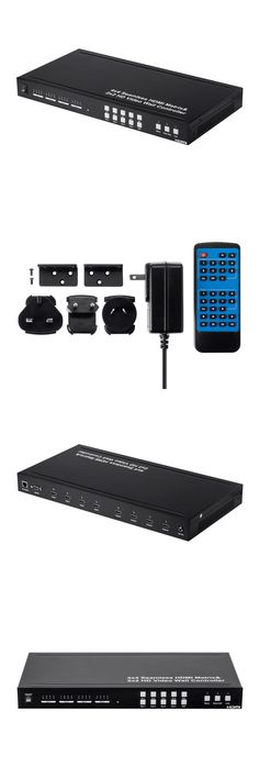 Splitters and Combiners: Blackbird 4X4 Hdmi Seamless Switching Matrix, Supporting 2X2 Video Walls #15783 -> BUY IT NOW ONLY: $449.99 on eBay!
