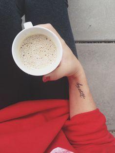 """Be still and know I am God.""  Dainty Tattoo"