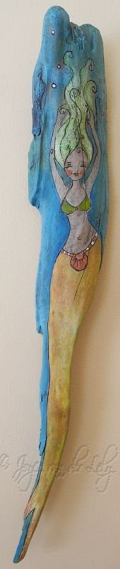 Driftwood Mermaid   SOLD - thanks xx