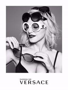 Madonna égérie des solaires et optiques Versace http://fashions-addict.com/Madonna-egerie-des-solaires-et-optiques-Versace_378___15840.html #mode #fashion #Italie @madonna