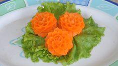 Lovely Hand Carving Carrot Flower, Brand HD