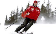 Schumi se lance dans la course de brancards ! #exclu #formule1 #schumacher #roulerabienquirouleraledernier