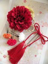 和のヘアパーツ~結婚式のお着物の髪型・花嫁様の和装ヘアスタイルにおすすめ髪飾り
