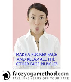 This helps to smooth out your nasolabial fold lines.This helps to smooth out your nasolabial fold lines. Facial Muscle Exercises, Neck Exercises, Facial Muscles, Facial Yoga, Facial Massage, Face Yoga Method, Nasolabial Folds, Learn Yoga, Wrinkle Remover