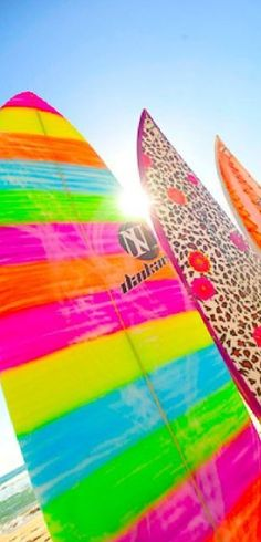 Cutest boards, can't wait to get out on the waves this summer
