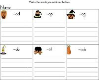 word work activities to go along with Halloween! Check out the short o puzzles for FREE...AND get the short i puzzles for a small price.