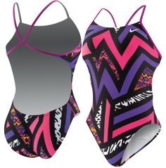 2cc93a3468 Nike Women's POW! Cut-Out Back Tank Swimsuit - Dick's Sporting Goods