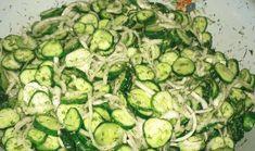 S tímto salátem zhubnete bez velké námahy: Chutná výborně, je bez cukru a je vhodný pro každého, kdo má problémy s trávením! Veggie Recipes, Salad Recipes, Vegetarian Recipes, Cooking Recipes, Healthy Recipes, Healthy Food, Canes Food, Dieta Detox, Russian Recipes