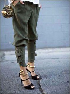 Wow! Those pants :)