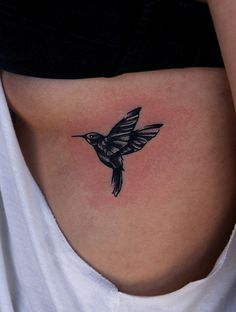 Hummingbird Tattoo, I like the position