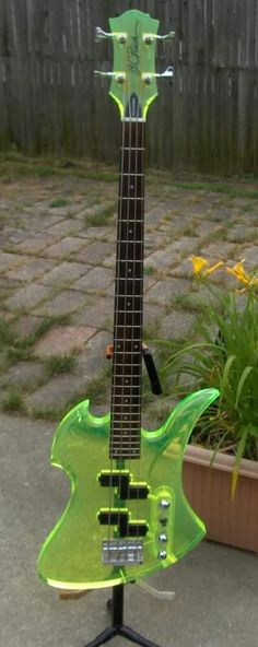 I would love to own one of these BC RICH MOCKINGBIRD bass. If anyone knows of one for sale let me know.