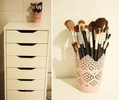 Mon rangement maquillage: pratique et efficace ! - Nolita